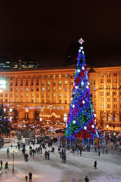 New Year In Kiev Christmas Worldwide Ukraine Kiev Ukraine