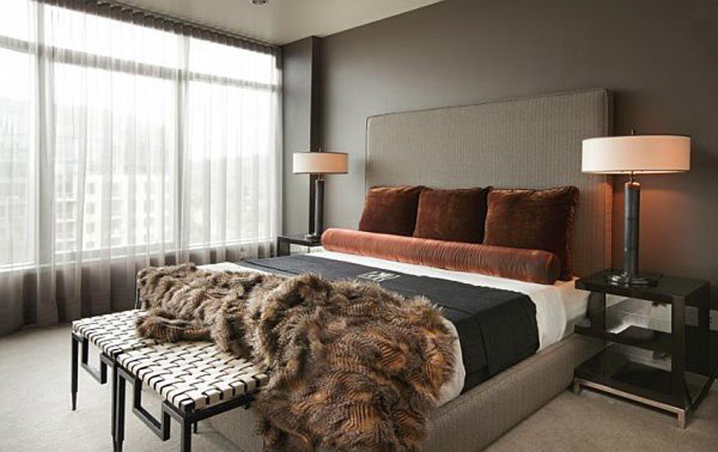 bedroom-paint-color-schemes-masculine-bedroom1, photo bedroom-paint