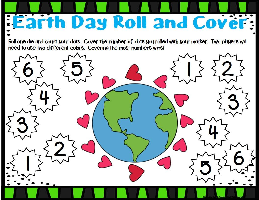 Earth Day Unit Activities Amp Centers