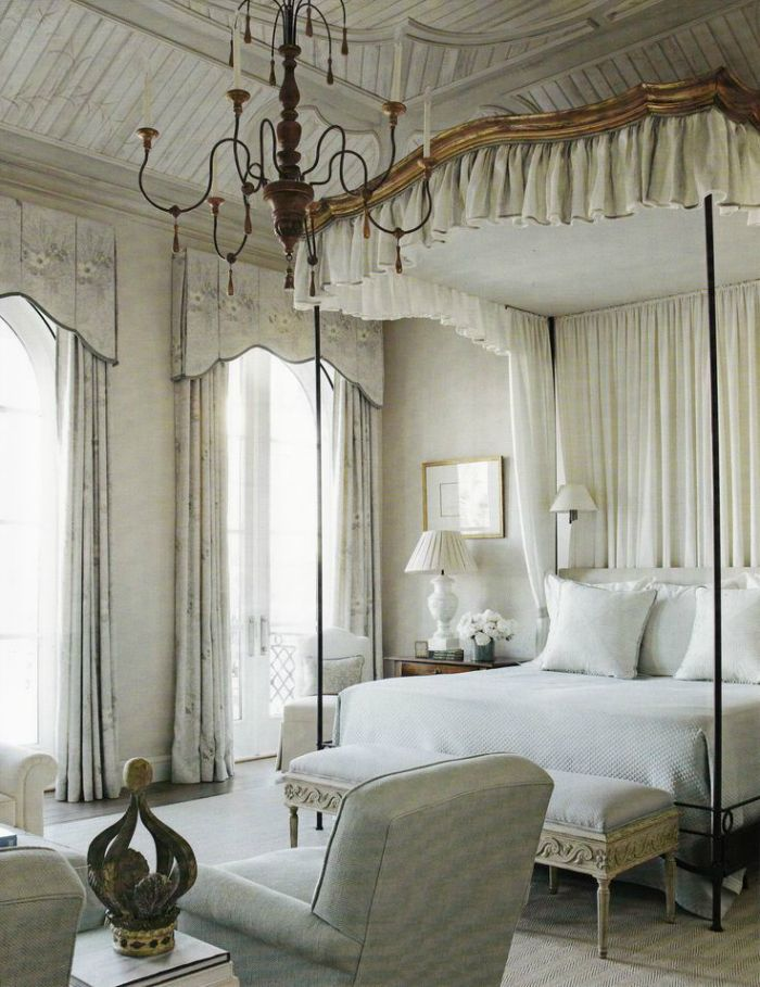 French Chateau Bedroom