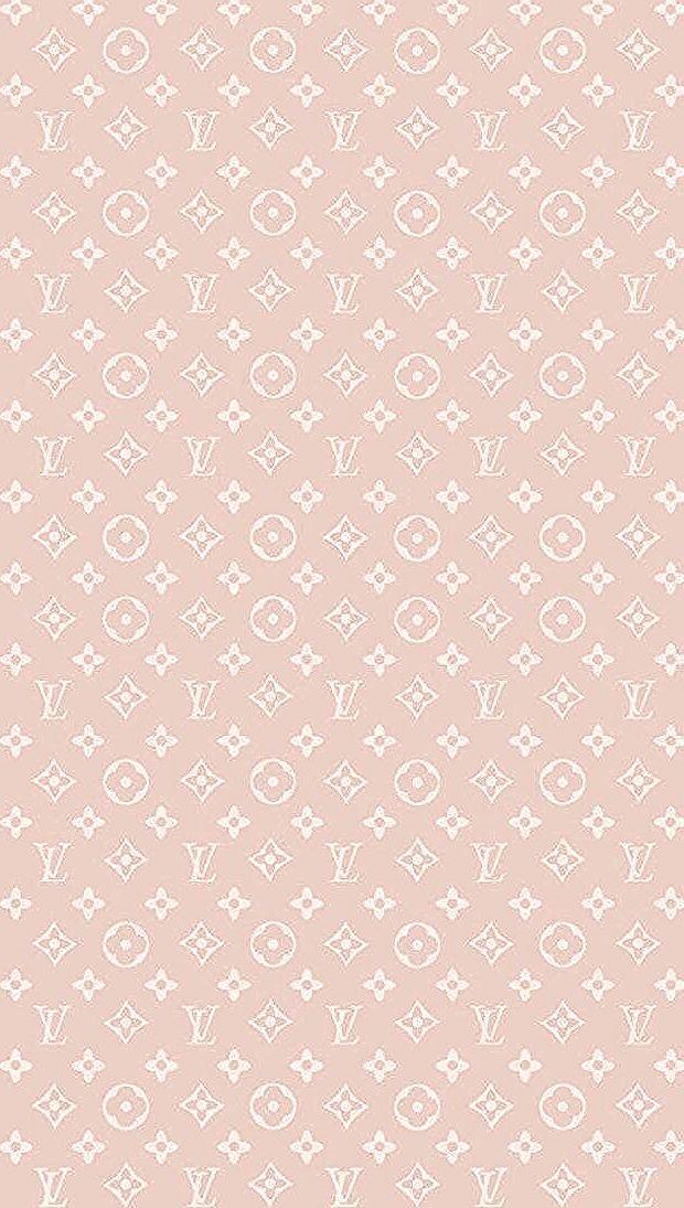 Louis Vuitton / Monogram for Rose Gold iPhone Fond d'écran Fond d'écran Fond