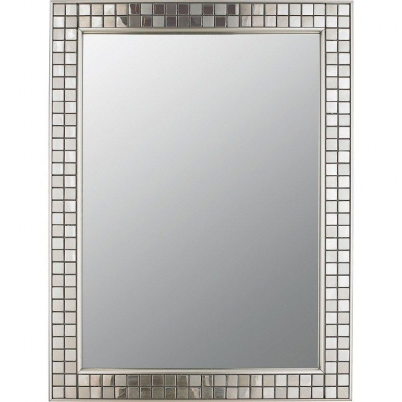 Brushed Nickel Framed Bathroom Mirror Furniture Is Curly An Significant Part Any New And Having Someplace To Keep Your