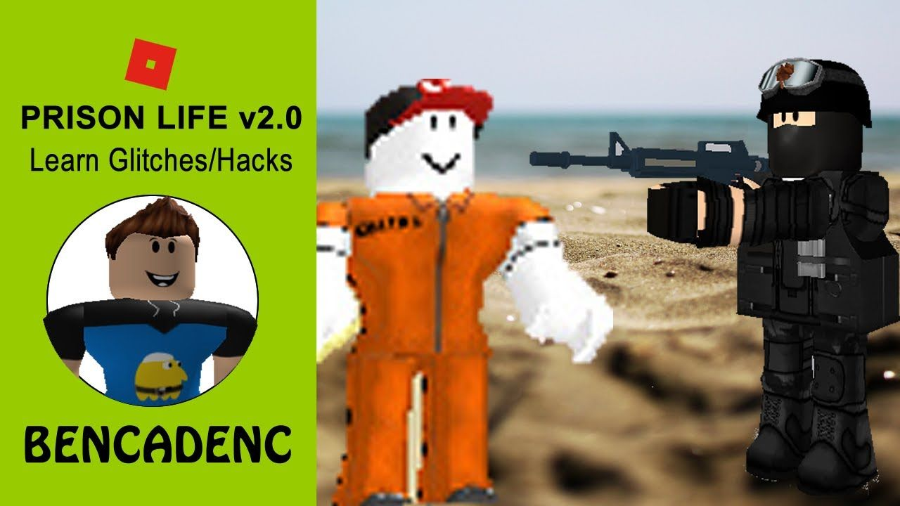 Roblox Prison Life 2 0 Escaping Prison Life With Hacks And