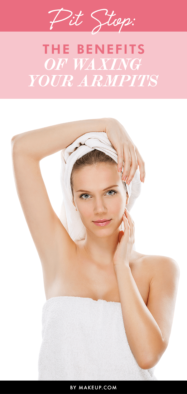 Pit Stop The Benefits Of Waxing Your Armpits L Makeup Com Waxing Armpits Oval Face Hairstyles Underarm Waxing