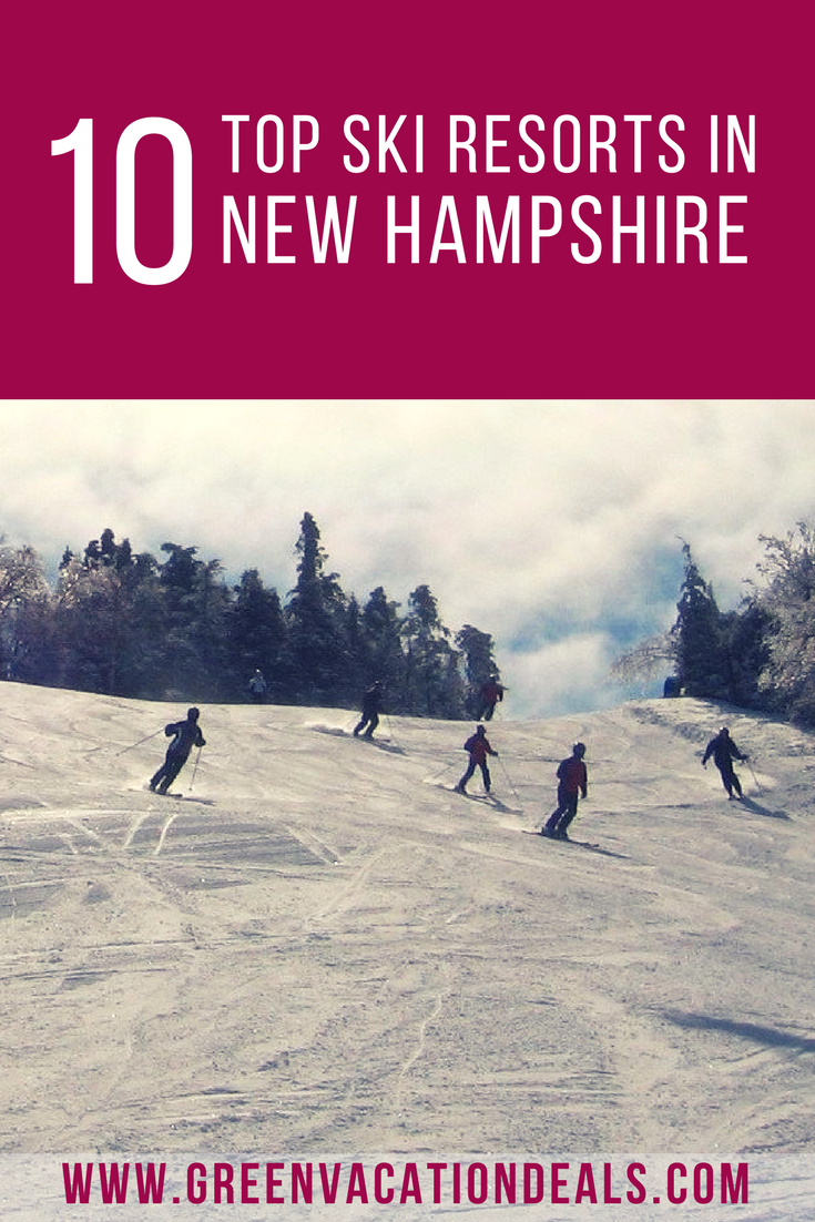 top 10 best ski resorts in new hampshire | highlights from green