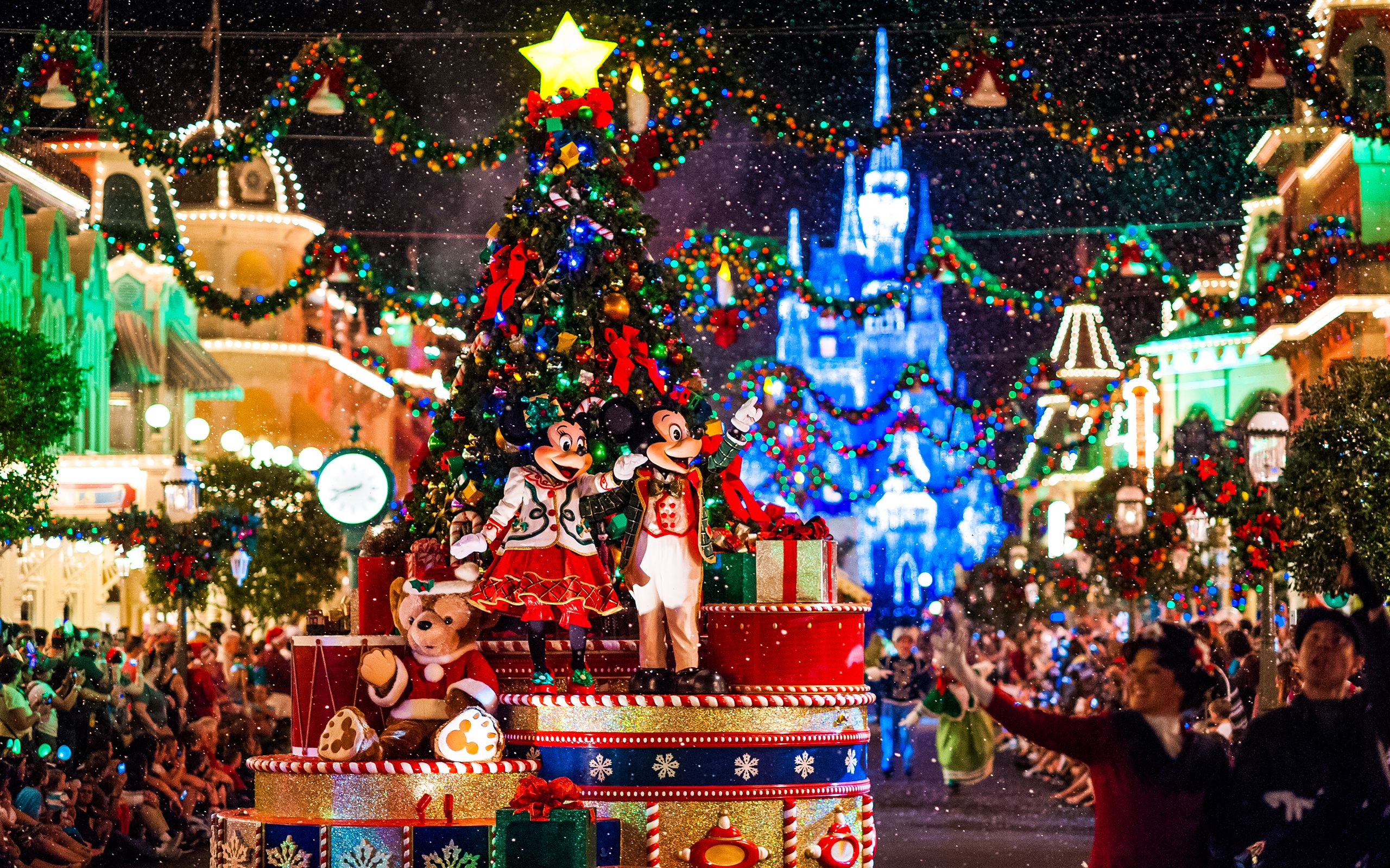 Thepaperwall Wallpapers Misc Big 498a293f06e800aefe06c60a5ca717514d664d57 Disneyland WorldDisneyland ChristmasVery