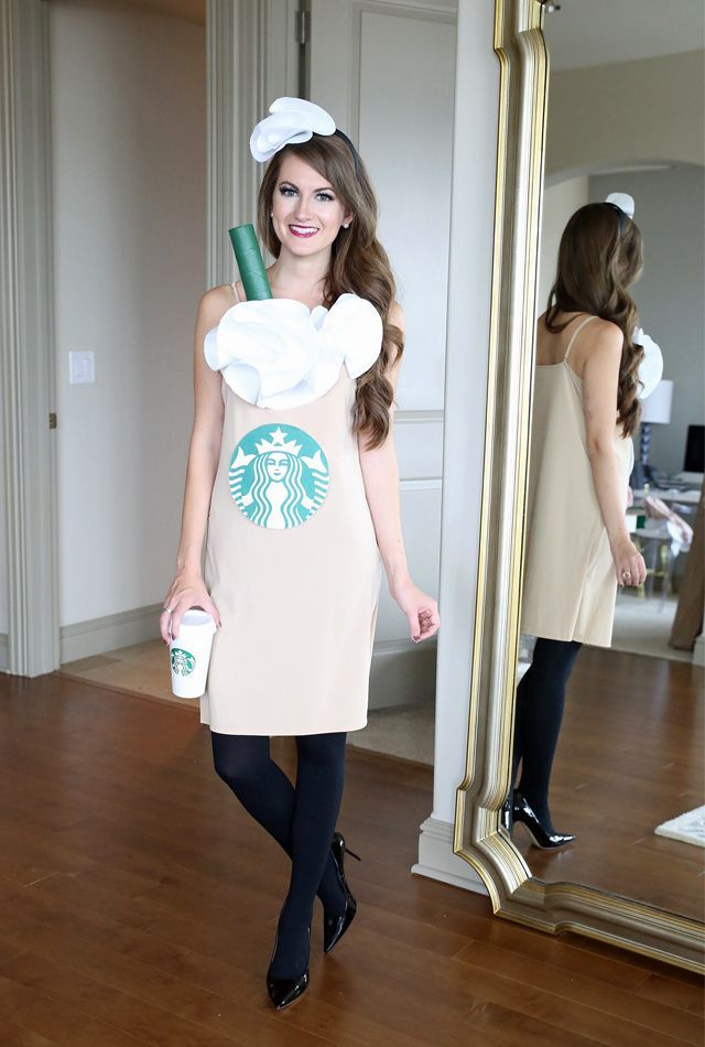 LastMinute DIY Halloween Costume Starbucks Cup