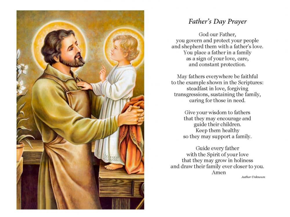 Father's Day prayer | Father's day prayer, Happy fathers day, Prayers