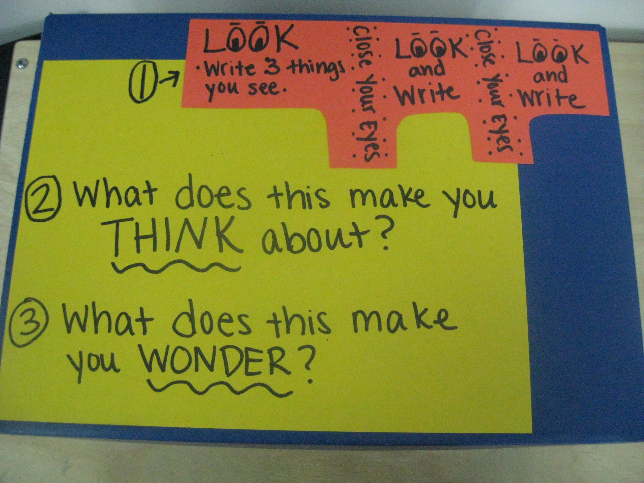 Encourage Students To Think Creatively By Creating A See