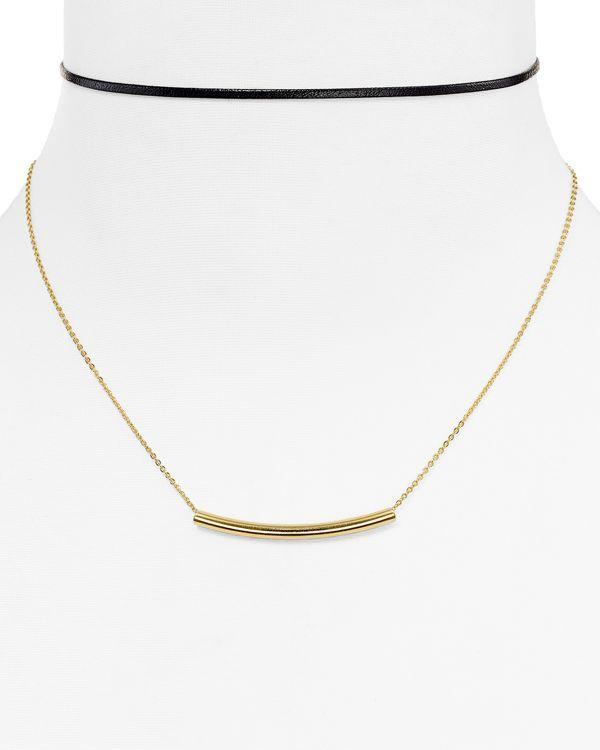 """Jules Smith Koy Layered Choker Necklace, 12"""""""