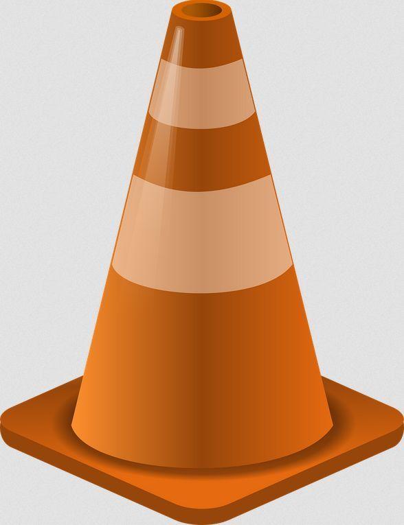 Change Video Pitch Using The Videolan Vlc Player Clip Art Cone Orange