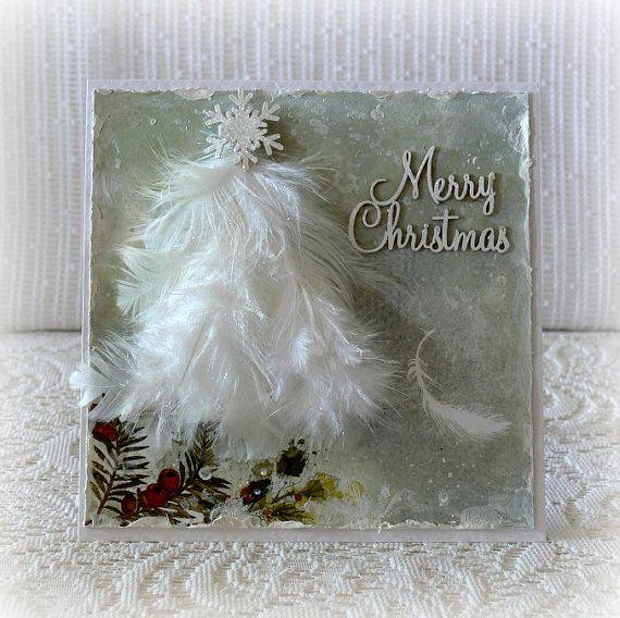 Christmas card handmade 3D Christmas card  by CarmenHandCrafts