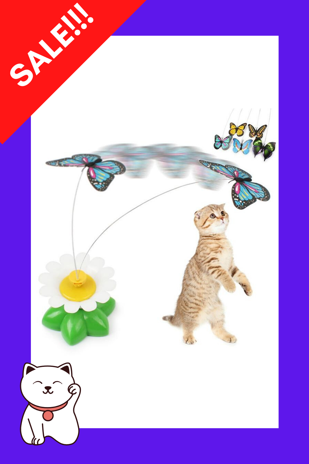 Electric Rotating Cat Toy Cat Toys Pet Toys Cats