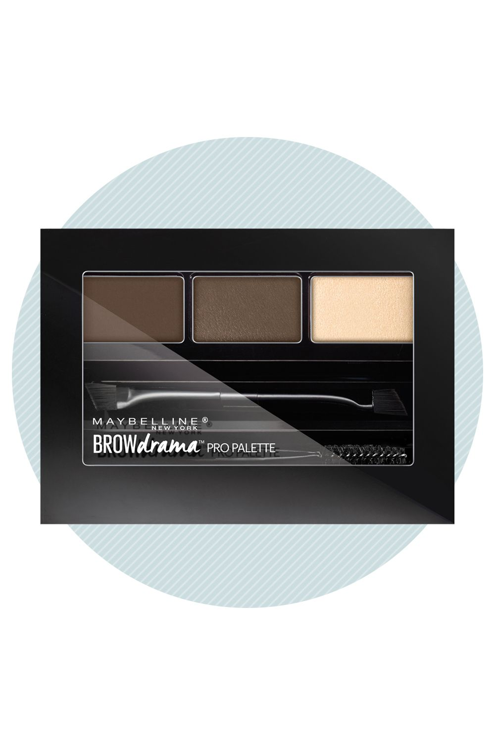 """""""I think a lot of women go wrong when they try to [choose a brow color] that's right on the nose,"""" says makeup artist Vincent Oquendo (a go-to for supermodels like Suki Waterhouse, Gigi and Bella Hadid). """"Your powder should be one shade lighter than the actual brow hair."""" Why? The oils in your skin often cause the pigment to oxidize and look darker once applied. Try Maybelline New York Drama Pro Palette, which simplifies your search by formulating pigments specifically for blondes…"""