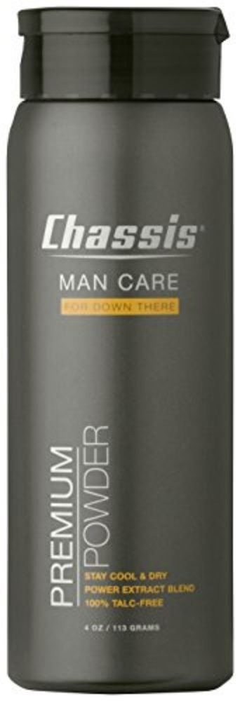 Chassis Premium Body Powder for Men Original Fresh Scent Cool Protect Sweat Odor #Chassis