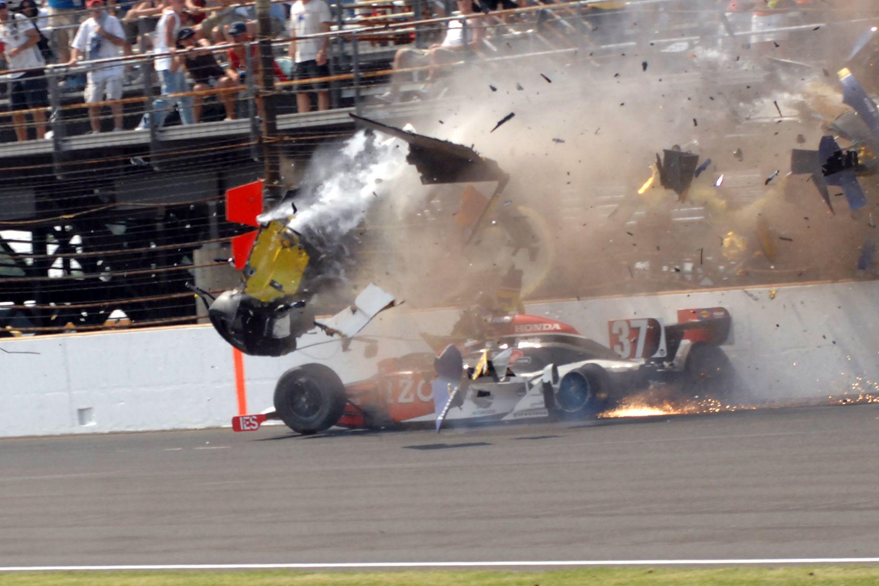 2012 Indy 500 Crashes Blog Da Ggoo Crash Mike Conway