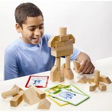 Blik Blok   Blik Blok Improves 3-D Thinking Skills With 100 Puzzles   Recommended Ages: Ages 8 and up
