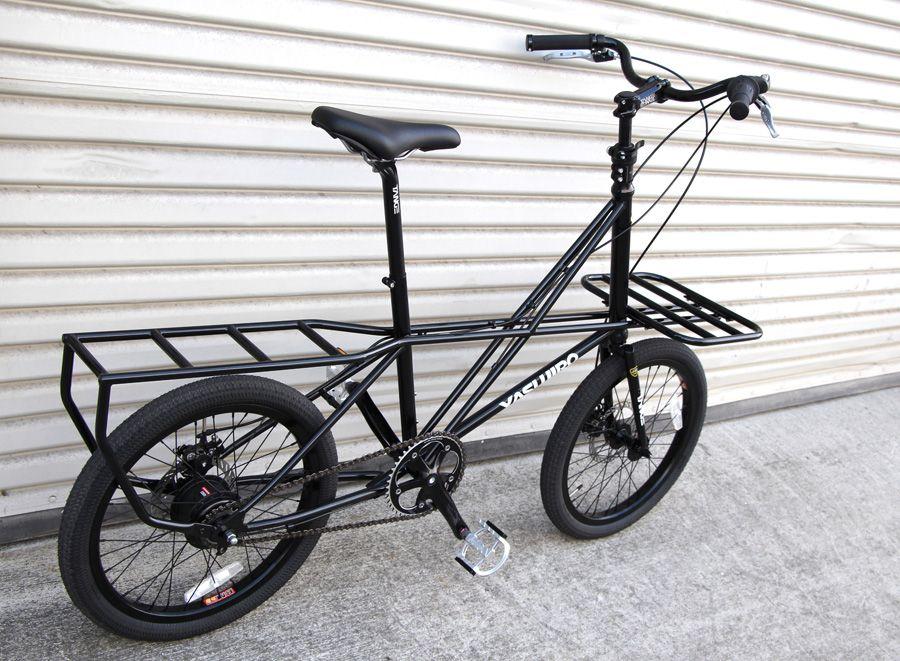 Yasujiro mini cargo bike, from the Soma store  Japan | Moving Target
