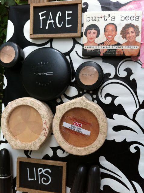 Magnetic Make-up Board Tutorial