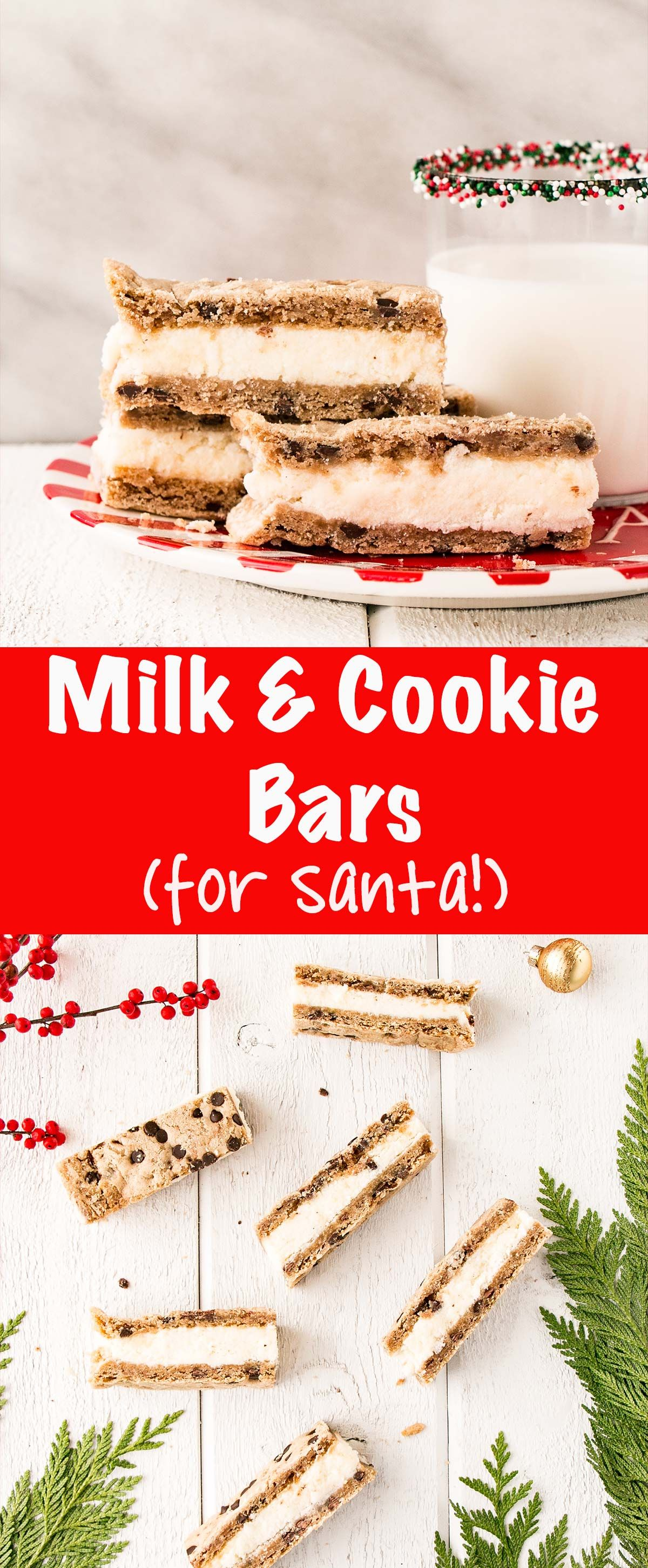 milk and cookie bars for santa are easy to whip up and set a tradition on christmas eve - Are Bars Open On Christmas Eve
