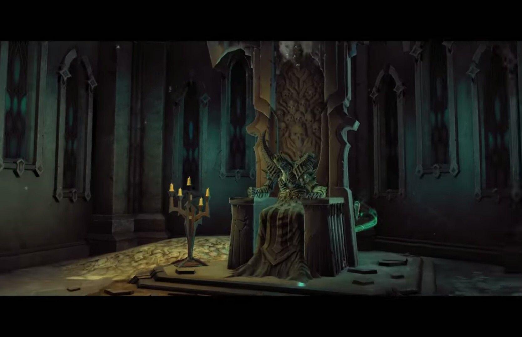 Throne Concept Art King