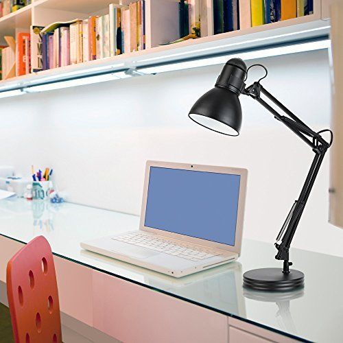 Awesome Swing Arm Light Desk Lamp For Computer Table Bench Artist Drafting Studio