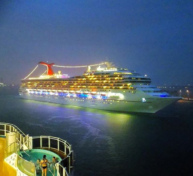 Carnival Glory setting sail from Miami! | Carnival ships ...
