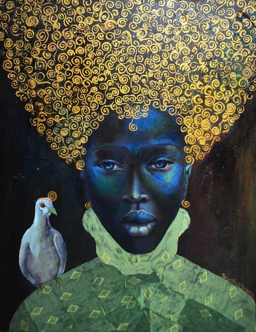 The black queen 2010 artist tamara natalie madden