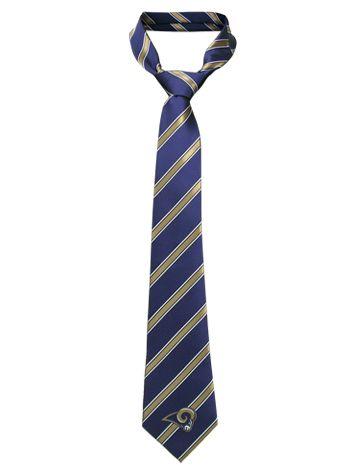 Navy & Gold Diagonal Woven Tie @Four Seasons Bridal