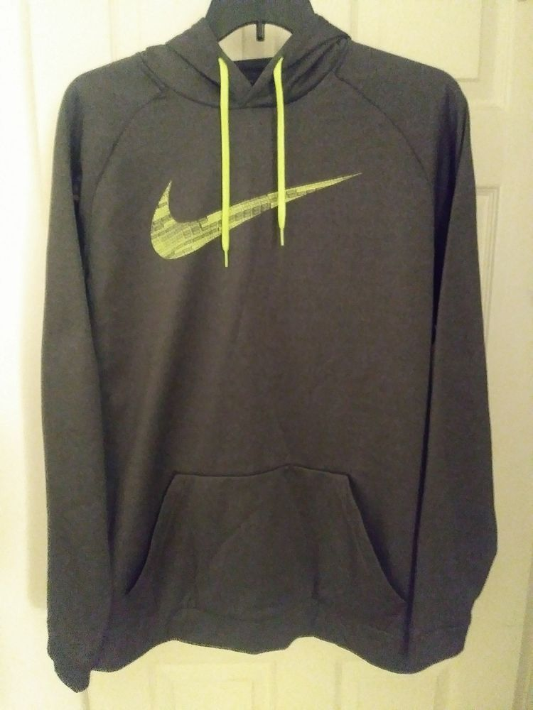 Nike Therma Fit grey hoodie hooded sweatshirt big and tall xlt  fashion   clothing  shoes  accessories  mensclothing  activewear (ebay link) b3f216cbc