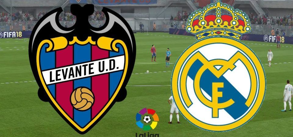 Levante Vs Real Madrid Score Prediction Live Stream Lineups Tv