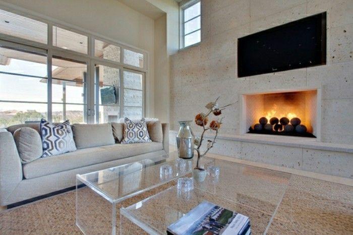 Kamin einbauen eine funkzionelle entscheidung kamine - Wohnzimmer orientalischer stil ...