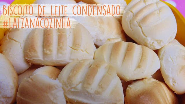 Dicas da Laiza: #LaizanaCozinha - Biscoito de Leite Condensado