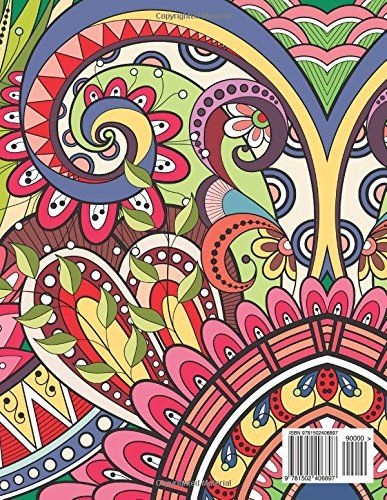 Detailed Designs And Beautiful Patterns Sacred Mandala Coloring Books For Adults Volume 28