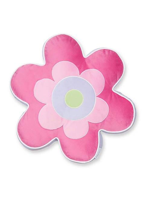 Levtex Sabel Flower Shaped Pillow Flower Shape Aqua Quilt