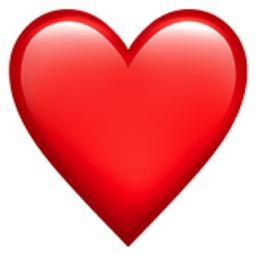 corazon rojo - Buscar con Google | Emojis de iphone, Emoji de corazón,  Imágenes de emojis