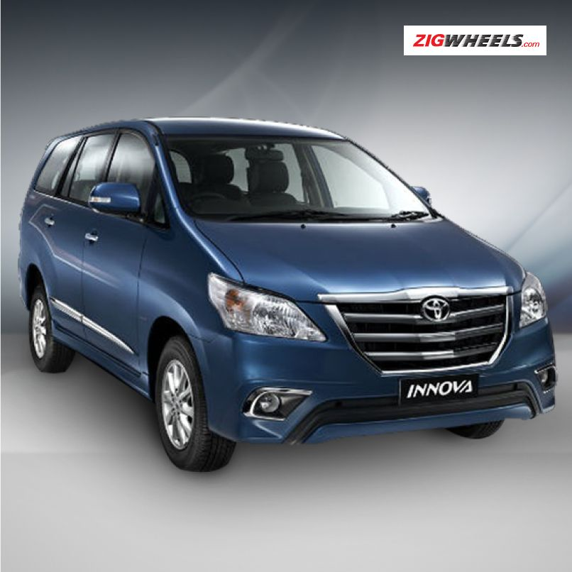 The New Toyota Innova Was Launched At An Additional Price Of Rs 10 000 To Rs 15 000 Recently It Comes With A Cool New Front Grill Toyota Innova Bike Fog Lamps