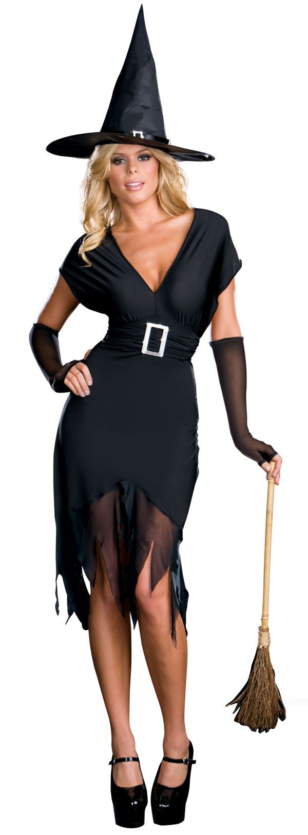 halloween costumes sexy | DIY Halloween Costume Idea – Sexy Witch ...