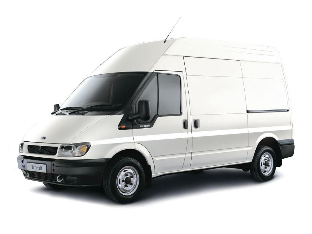 Ford transit van white
