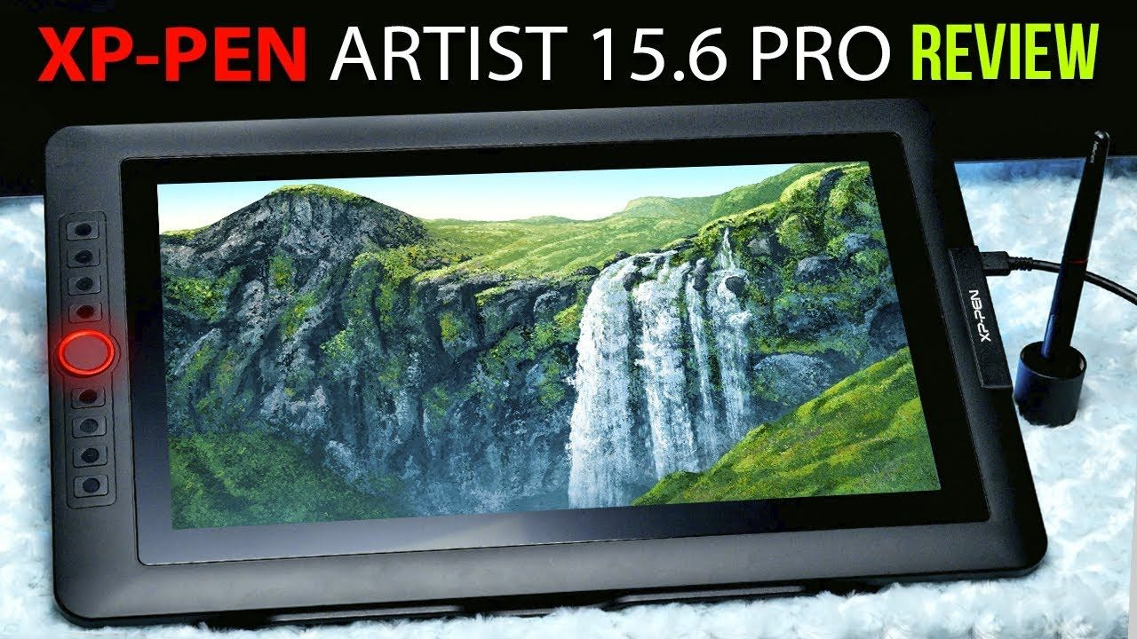 A professional artist's review of the XPPen Artist 15.6