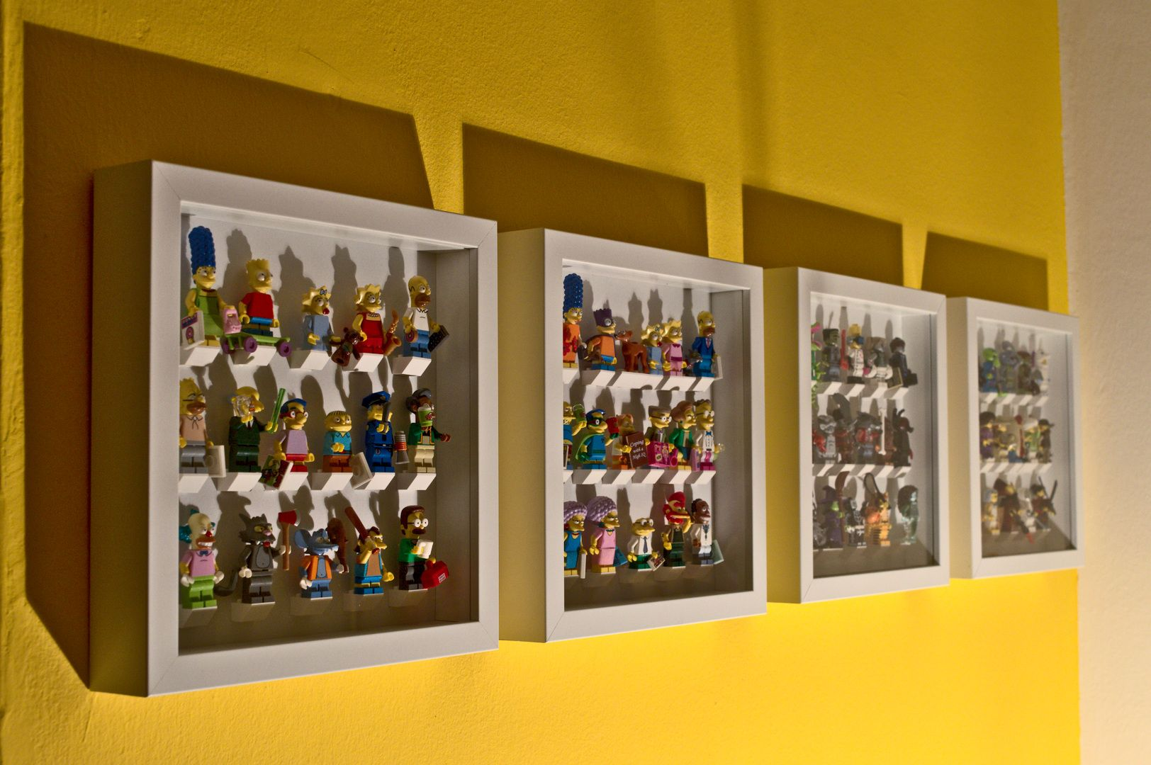 How to RIBBA LEGO DIY Display Frame for Minifigures. Every step and ...