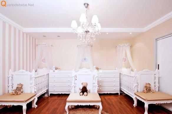 Triplet Baby Room