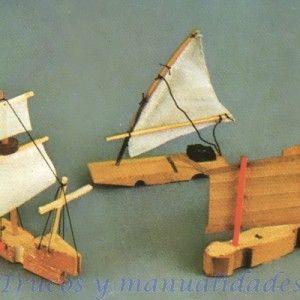 Diy Boats Crafts For Kids Woodworking Pinterest Crafts
