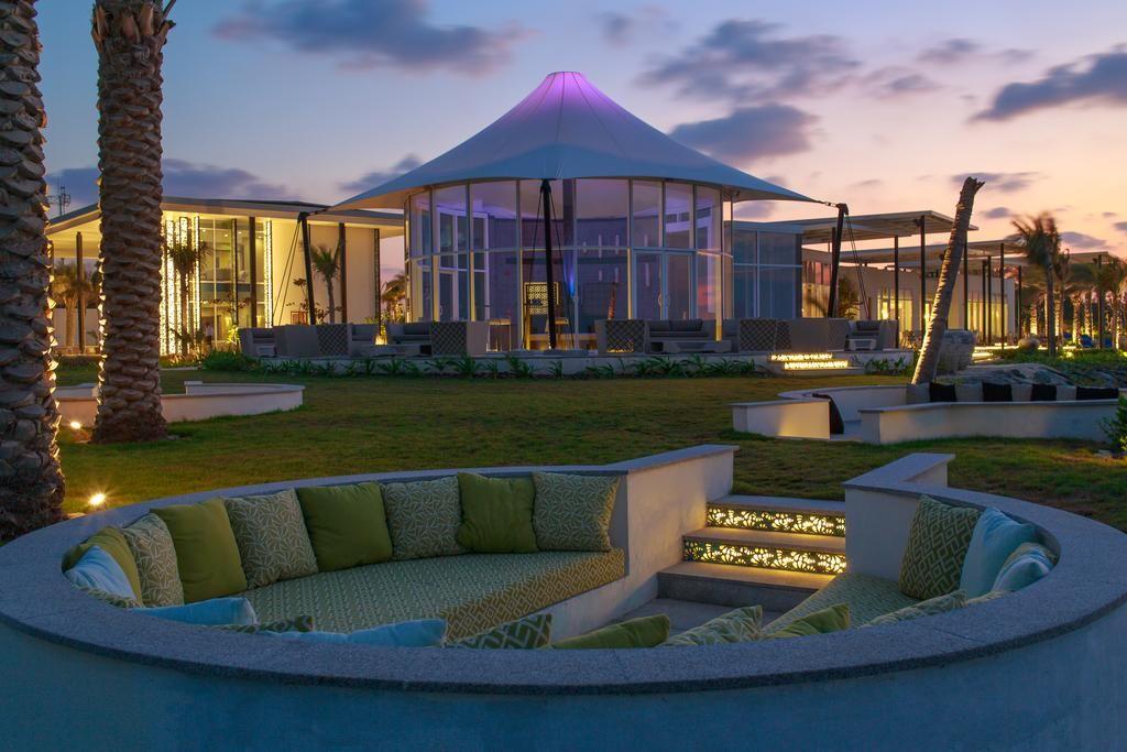 منتجع جزيرة زايا نوراي أبو ظبي الإمارات Private Island Resort Outdoor Retreat Architecture