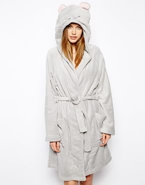 Image 1 of Oysho Mouse Ear Dressing Gown Clothes, Lounge