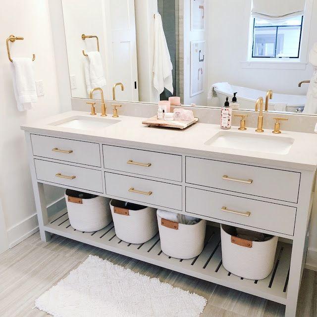 Instagram Lately Bathroom Vanity Yellow Bathrooms