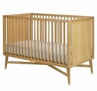 Dwellstudio Mid Century Crib In Natural My Urban Child Modern Baby Cribs Cribs Modern Crib