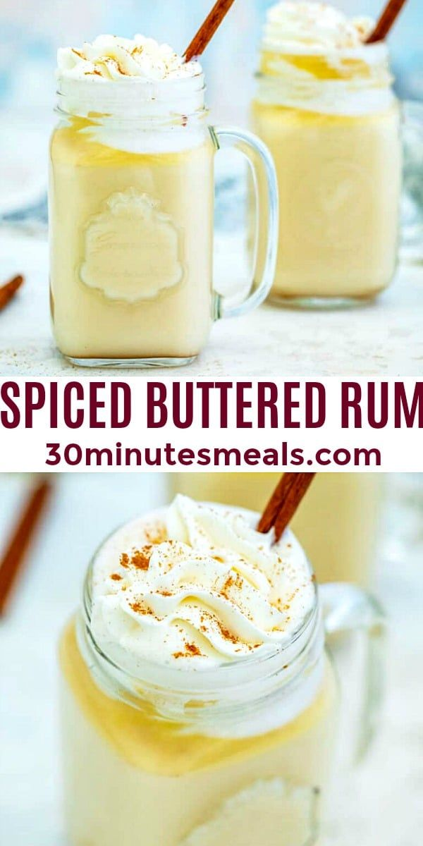 Spiced Buttered Rum is the ultimate holiday drink this ...