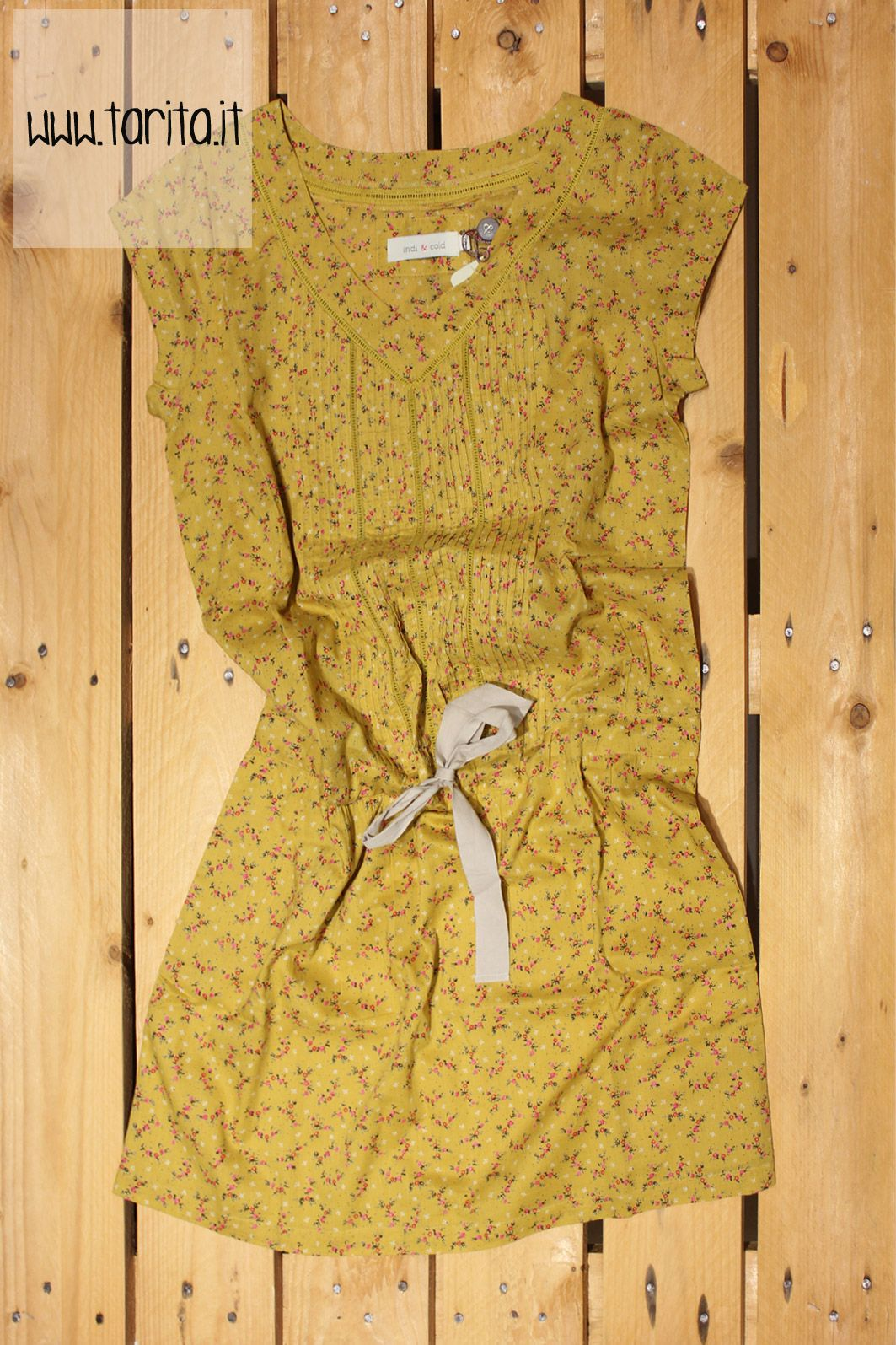 Tarita S/S 2013. Indi & Cold, 100% printed cotton dress.
