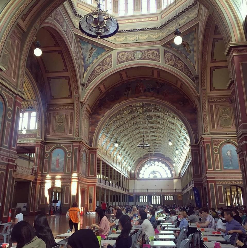 Interior Exhibition Buildings Many Melbourne University Exams